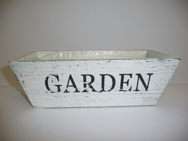 dřevěný truhlík GARDEN