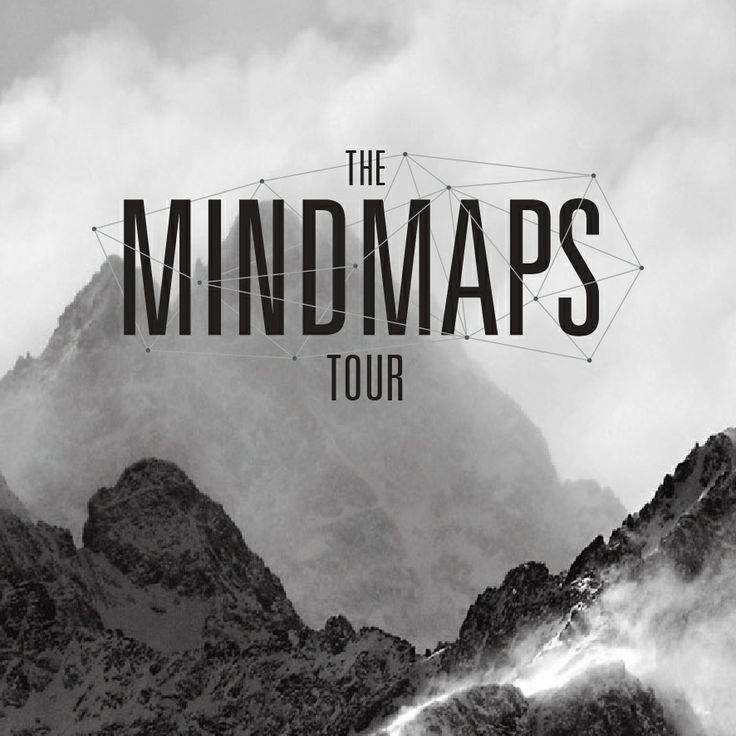 'The Mindmaps Tour' typography for Sydney Far Away Stables, designed by Camilla Cornwell