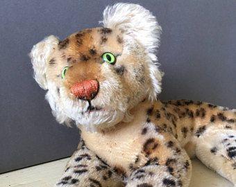 Vintage Steiff Stuffed Tiger