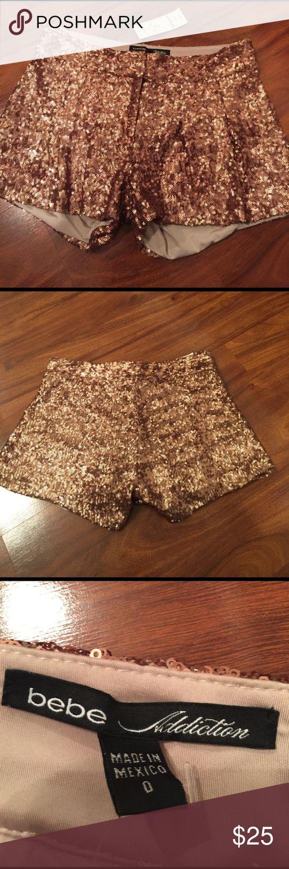 Bebe sparkly shorts Bebe bebe Shorts