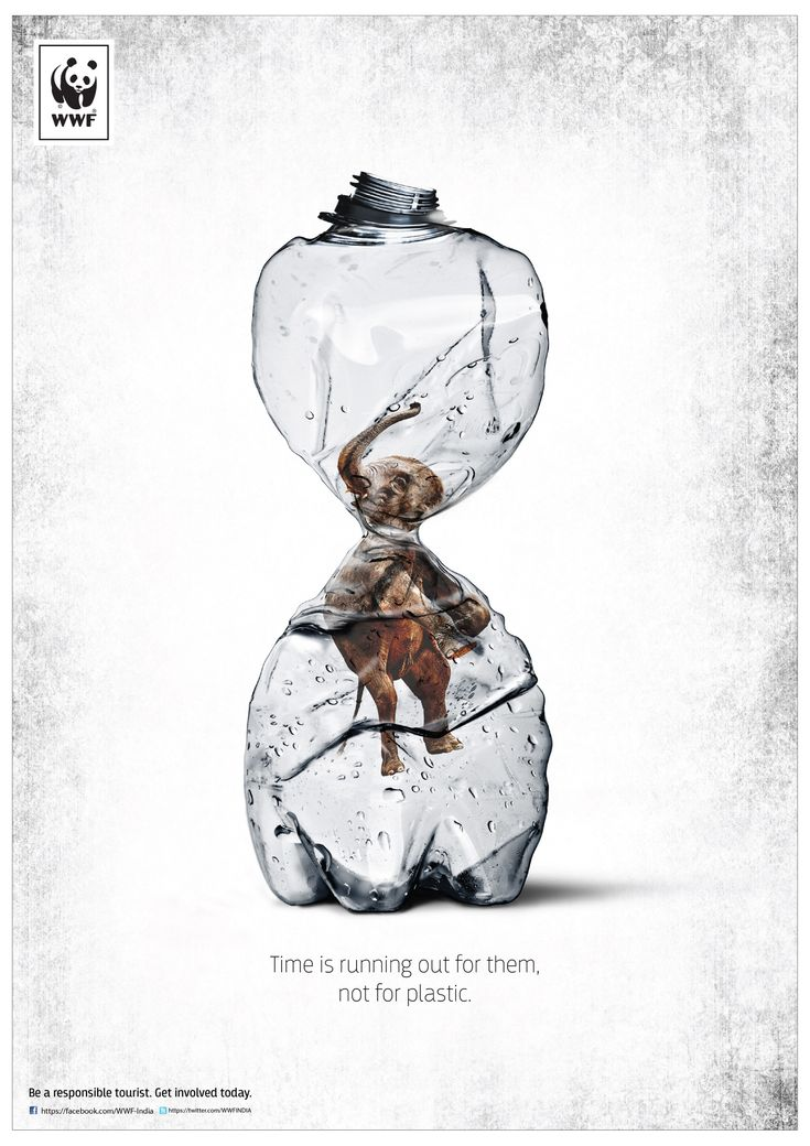 Time is running out for them, not for plastic. Be a responsible tourist. Get involved today. Art Director / Photographer: Deepak Malhotra Copywri