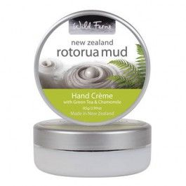 Wild Ferns Rotorua Mud Hand Creme with Green Tea & Chamomile 85g