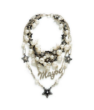 COMBINATION PEAR AND CHAIN NECKLACE from Zara