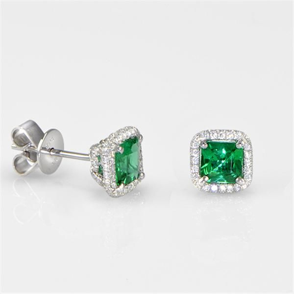 Green Emerald Earrings                                                                                                                                                                                 More