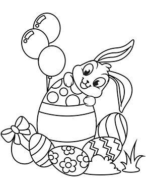 Ausmalbild Osterhase Mit Eiern Zum Ausmalen Ausmalbilder Malvorlagen Ostern Osterhase Kinde Ostereier Farben Herbst Ausmalvorlagen Ausmalbilder