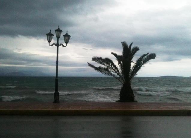 Winter at Corfu