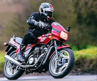 The VT500E was by no means a bad bike. It certainly handled well enough and it held on for a six-year production run, although never selling in huge numbers