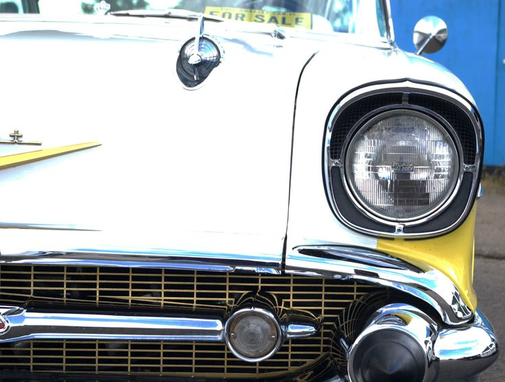 A personal favorite from my Etsy shop https://www.etsy.com/uk/listing/218346713/yellow-and-white-chevrolet-wall-art-home