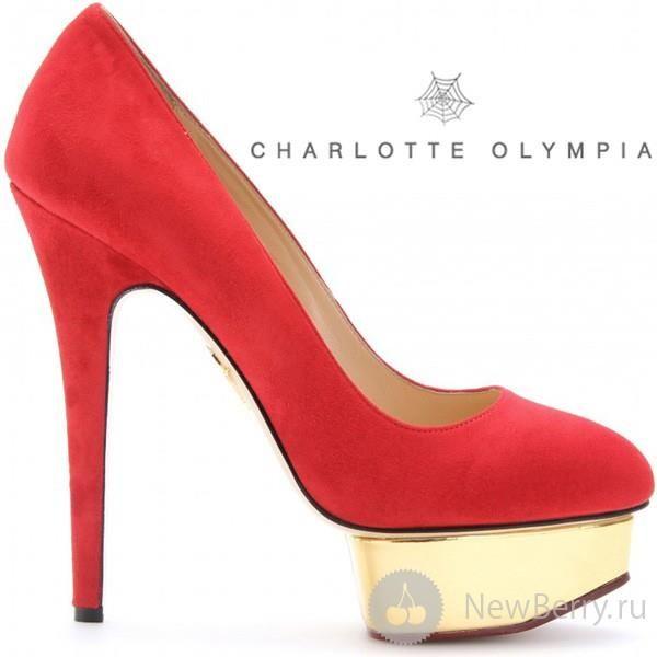 Туфли похожие на charlotte olympia