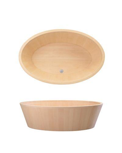 O-Bath D Bain en bois design japonais