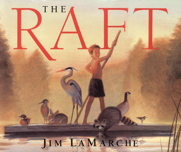The Raft...great book for characters change over time