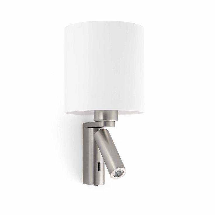Lámpara aplique de pared estilo moderno #iluminacion #decoracion #lamparas #diseño #arquitectura #apliquespared #lamparasparacasa