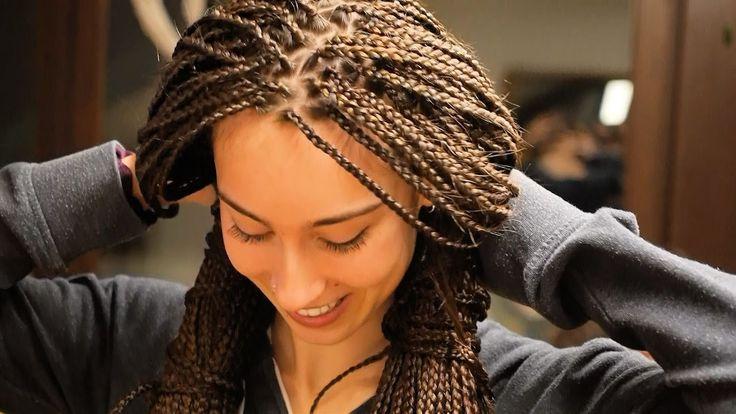 Noemi & Mareike lassen ihre superlangen Haare braiden! Mit ganz vielen S...