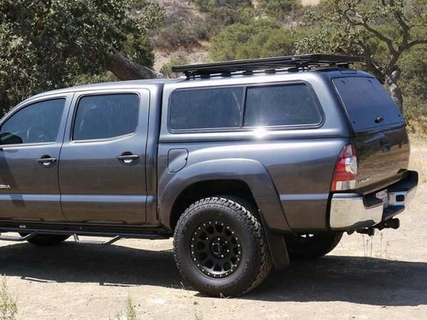 Are Overland Topper Ford F150 Raptor With Rails This Kit Creates A Full Size Rack On Truck Canopies Camper Shells