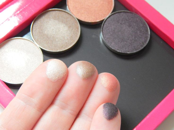 Makeup Geek Eyeshadows and Z Palette    Review