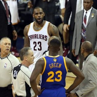 Is Draymond Green Suspended For Game 5? - Ejection?  Draymond Green was not ejected from game 4 and will play in game 5 of the NBA Finals. Rumors about him getting suspended arose after he got a technical foul in game 4. Fans thought the technical foul was his second but it was his first. The first technical foul was given to Golden State Warriors coach Steve Kerr not Draymond.  The video at the end of this article shows LeBron James and Draymond Green in an episode of The Shop. LeBron…