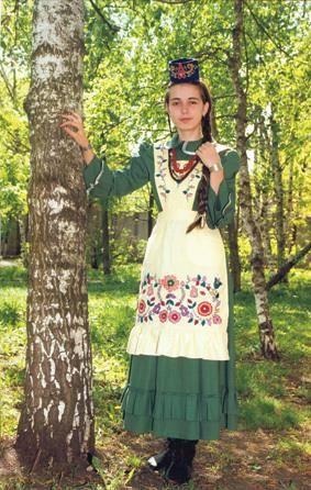 Особенности татарского национального женского костюма