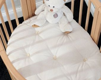 Wool-Filled Crib Mattress / 4 Thick / par TheHomeOfWool sur Etsy