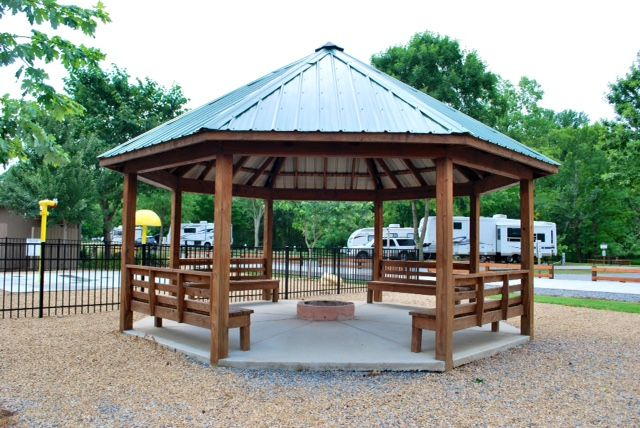 Bench Gazebo With Fire Pit Fire Pit For Your Home