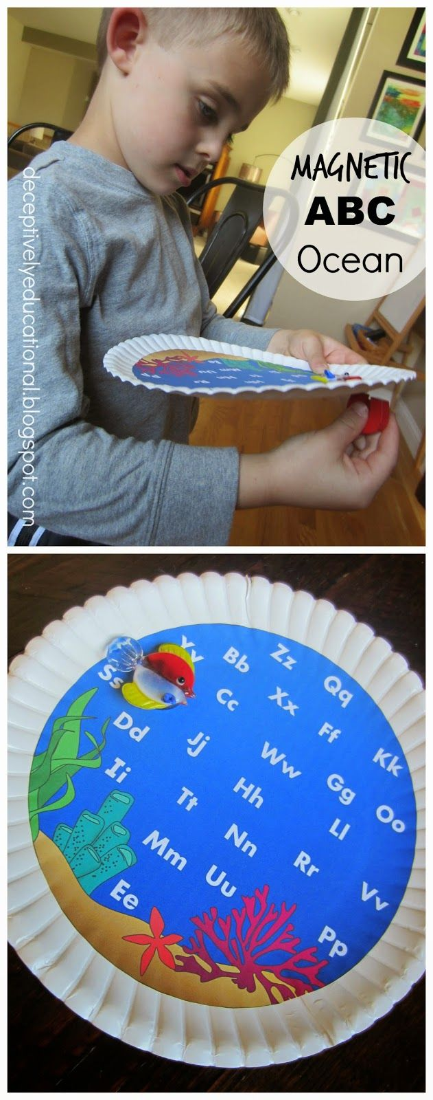 Relentlessly Fun, Deceptively Educational: Magnetic ABC Ocean: