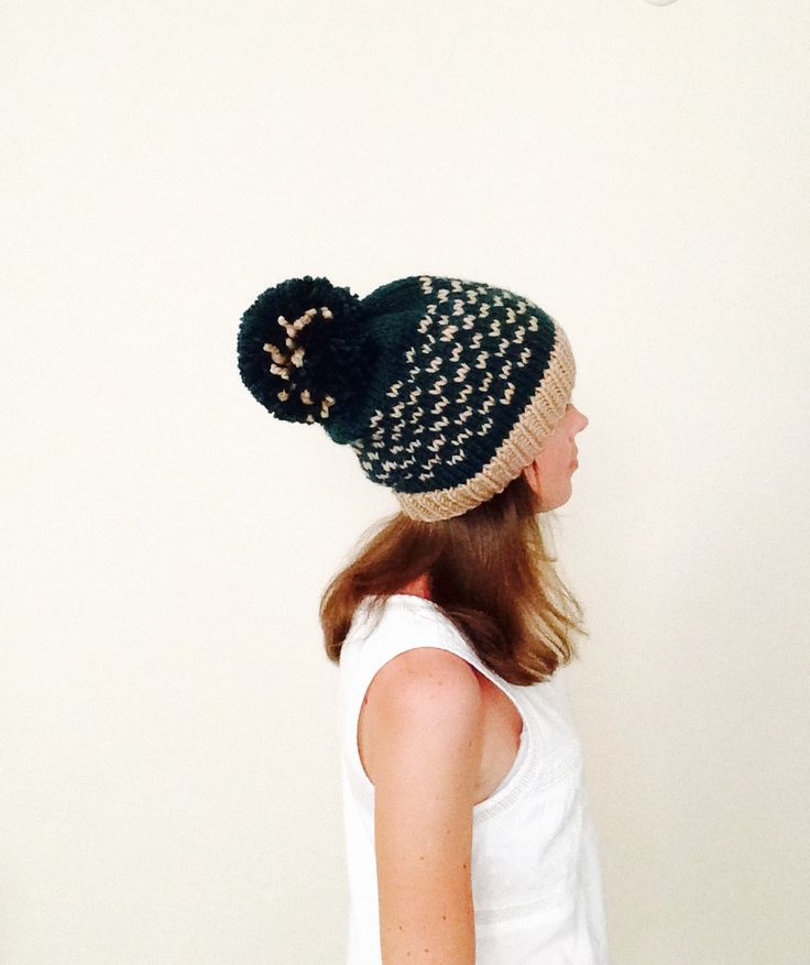 101 best Hand Knitted Hats images on Pinterest | Beanies, Hands ...