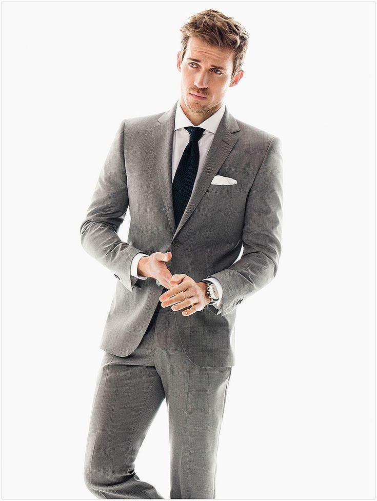 Andrew Cooper Suits Massimo Dutti Model