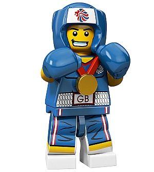 Olympic LEGO Minifigure – Brawny Boxer