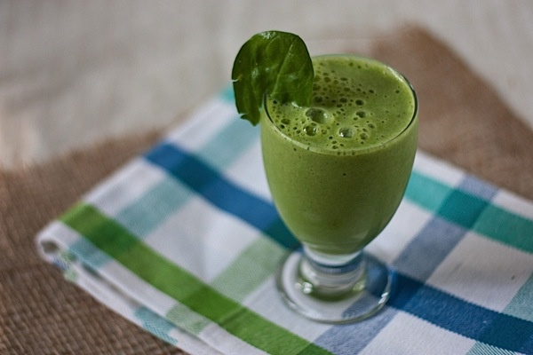 Green Monster spinach & banana smoothie