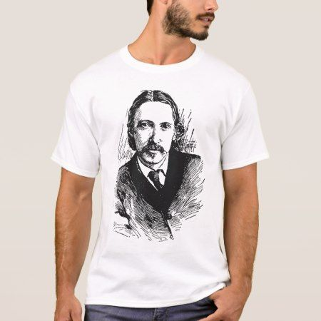 Robert Louis Stevenson T-Shirt - tap, personalize, buy right now!