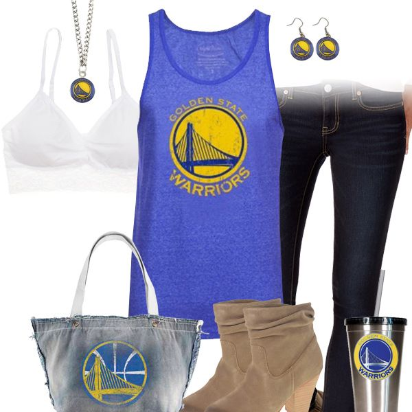 Golden State Warriors Tank Top Outfit