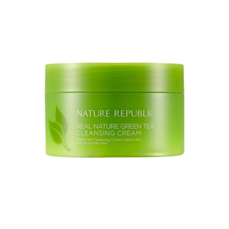 Nature Republic Real Nature Green Tea Cleansing Cream