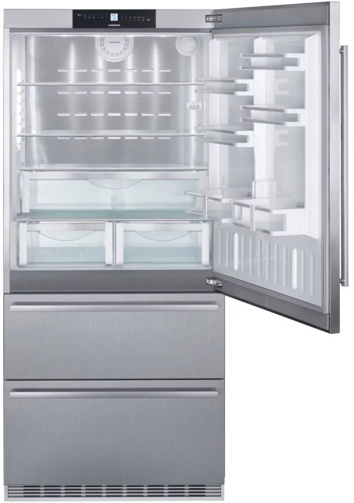 Liebherr Cs2080 36 Counter Depth Bottom Freezer Refrigerator 2 Freezer Drawers Liebherr Bottom Freezer Refrigerator Bottom Freezer French Door Refrigerator