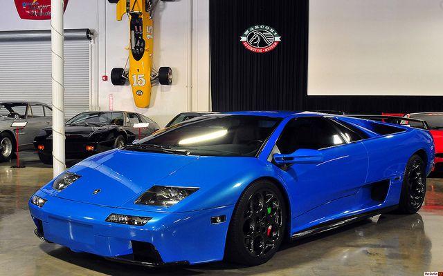 1998 lamborghini diablo vt 6 0 blue fvl lamborghini diablo lamborghini super luxury cars 1998 lamborghini diablo vt 6 0 blue