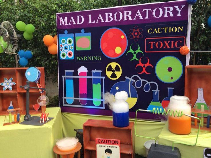 www.crazylab.in top-10-ideas-for-science-party-decoration