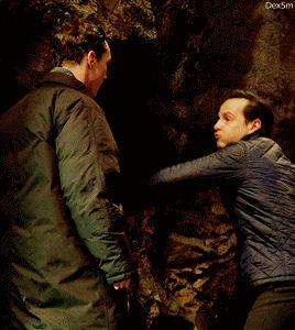 Benedict Cumberbatch — dex5m:   I'm not worthy of Andrew's fighting face.