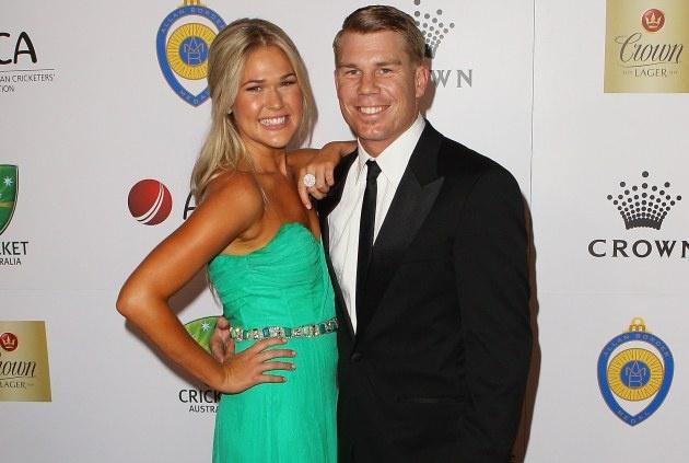 David Warner and Samantha Williams