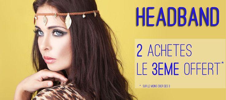 headband - EXTENSIONPOINTCOM Offre 2 achetés le 3ème offert http://www.extensionpointcom.fr/fr/1359-headband