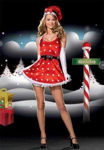Pretty Santa Christmas Costume #ChristmasCostumes #PrettySanta #santashelper $29.99 #blossomaccessories