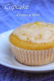 Cupcake al cocco e lime.