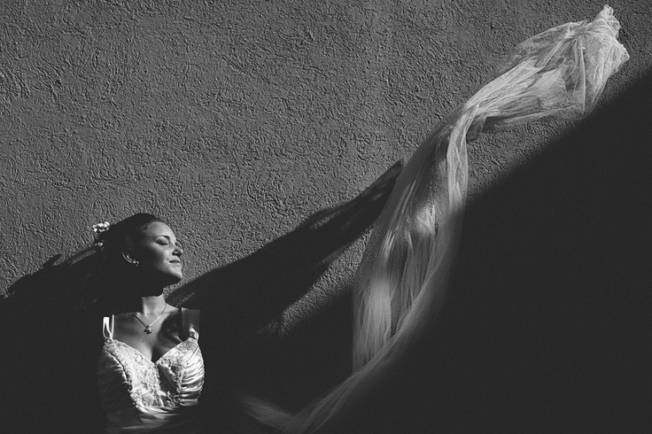 Novia de cara al sol, en Mendoza - Argentina
