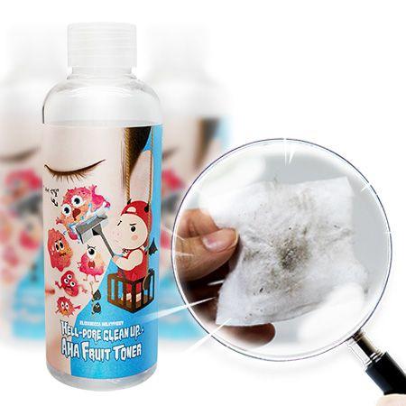[엘리자베카 [Elizavecca]] <b>Elizavecca face fruit toner</b><br>hell pore toner-200ml<br>Face filling exfoliating Aha, Baha and skin<br>Face containing oil worth 4.5 %, how horny face moisturising