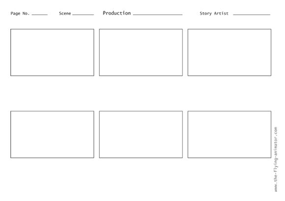 16x9 Layout - Character Map Example Capture 169 resolution with - movie storyboard free sample example format download