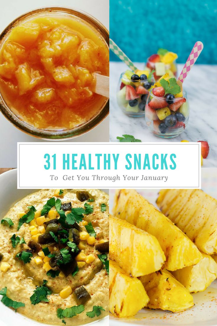 31 Healthy Snacks. A list of 31 one delicious snacks all gluten free with no refined sugar. This handy list will prevent you from breaking that New Years Resolution.