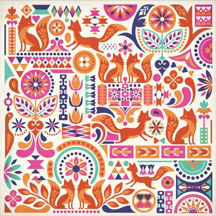 Courtney Blair / Pattern design