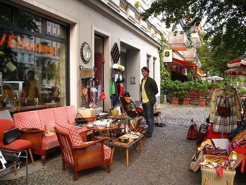 berlin vintage shopping