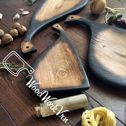 Декоративная посуда ручной работы. Ярмарка Мастеров - ручная работа. Купить АРТ №56. Handmade. Доски для подачи, Дуб