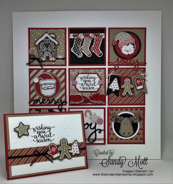 Stampin' Up! Holiday Catalog Framed Art