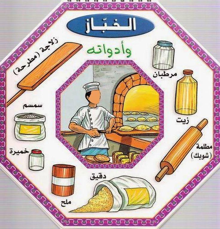 L'école des Papillons: les métiers et outils ( arabe)
