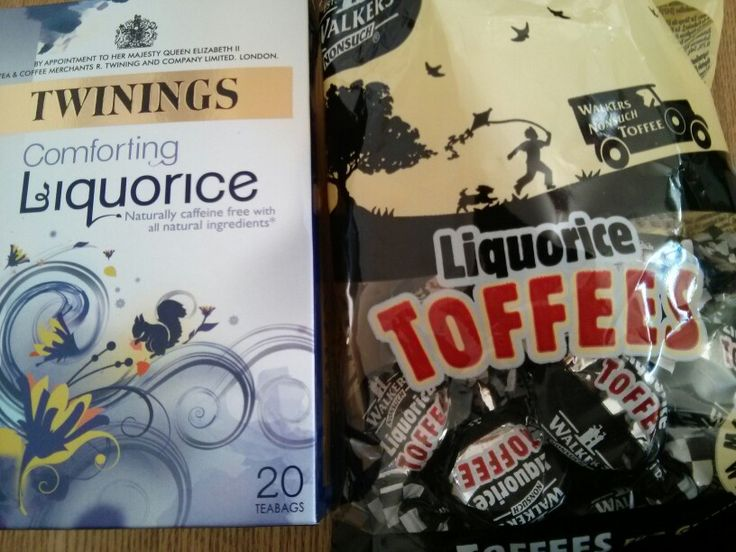 Lukrecjowe prezenty:) #lukrecja #cuksy #herbata