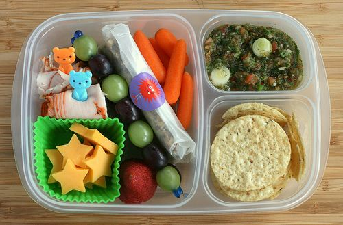 Lunch Boxes for Kids: Bento Lunches, Lunches Recipes, Bento Boxes, Kids Lunches, For Kids, Lunches Boxes, Lunches Ideas, Salsa Recipes, Kids Food